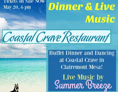 Dinner & Dancing SPC Fundraiser — May 20!
